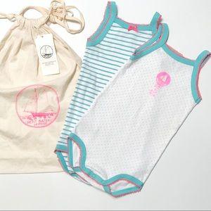 Petit Bateau Neon Onesie Bundle Gift Set